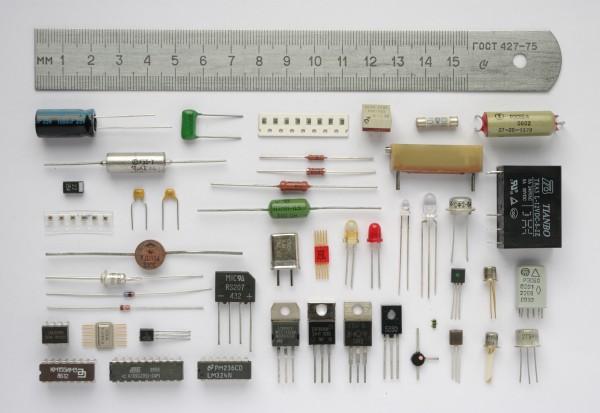 macam-macam komponen elektronik