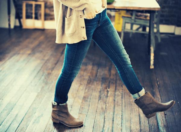 langkah kaki untuk mengukur jarak