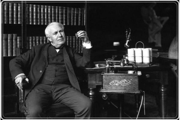 Thomas Alva Edison ilmuan penemu listrik