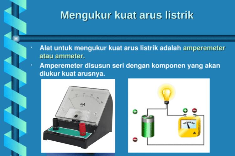 mengukur arus listrik