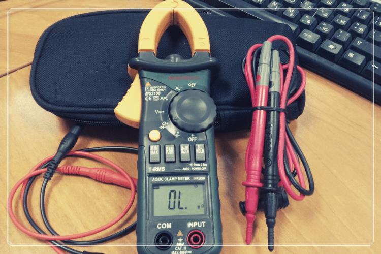 fungsi clamp meter