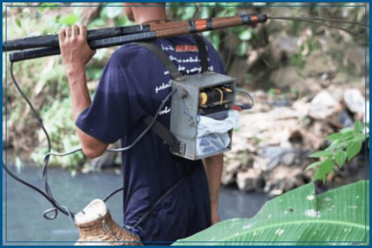 Cara Membuat Setrum Ikan