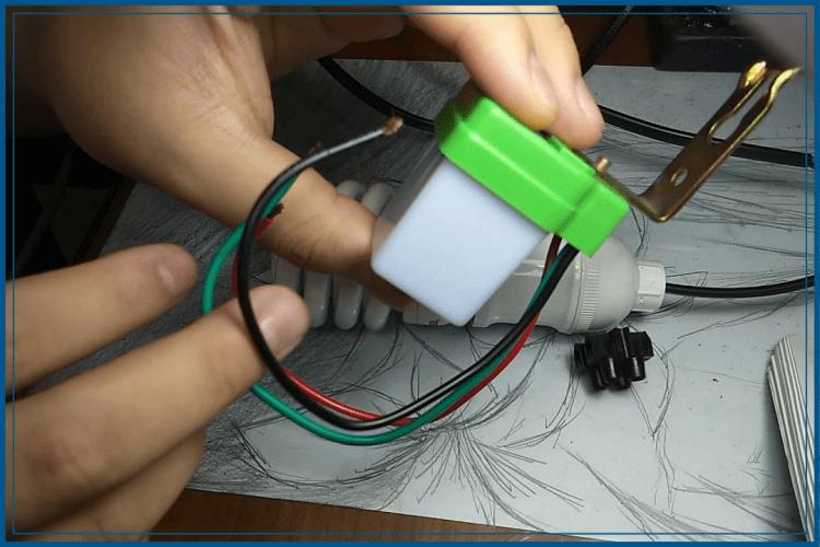 cara memasang sensor cahaya
